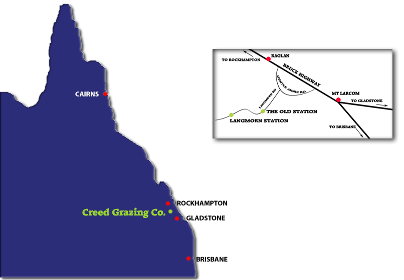 location of creed grazing